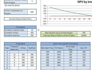 NPV IRR Calculator