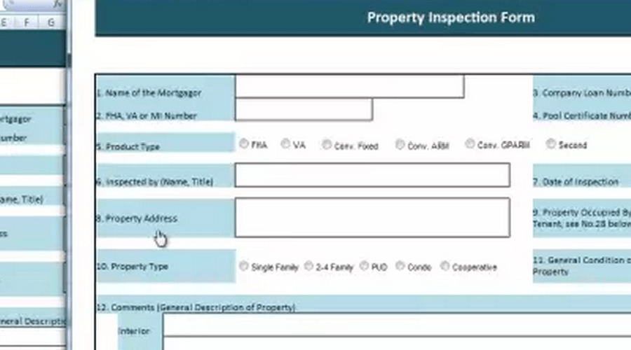 Building a Property Inspection Application