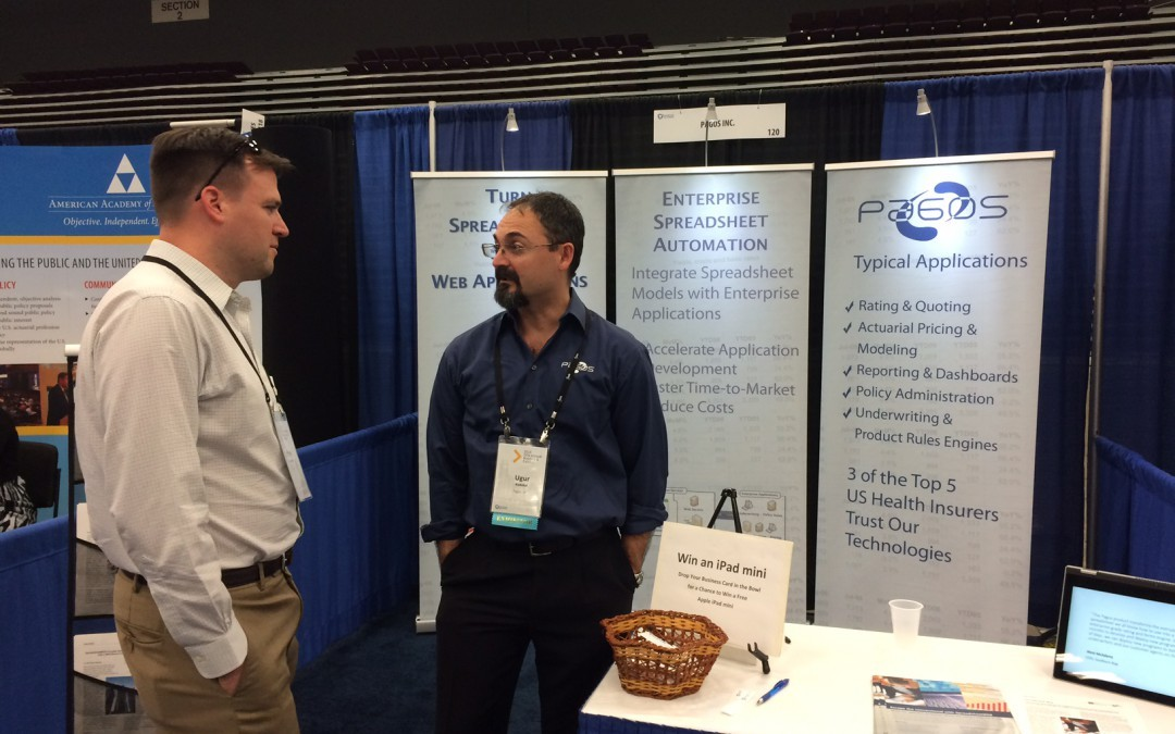 We Showcased SpreadsheetWEB at SOA 2015 Annual Meeting & Exhibit