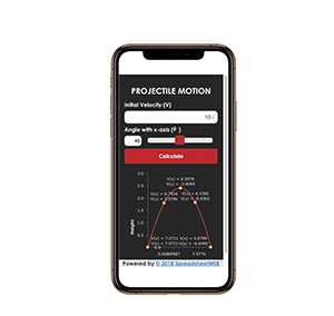 Projectile Motion – Mobile Enabled