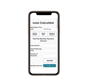 Loan Calculator – Mobile Enabled