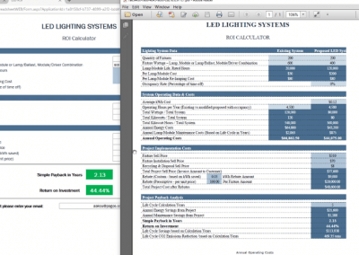 Building Online Calculators From Excel