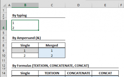 How to add a new line inside a cell
