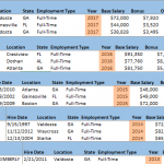 How to combine data from multiple sheets 1