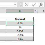 How to get the decimal part of numbers in a data set