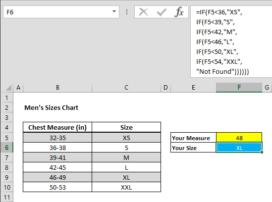 How to use multiple IF functions