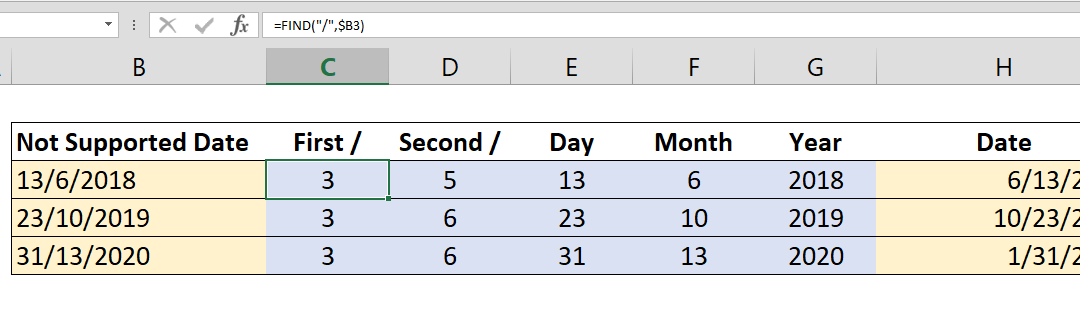 How to convert D/M/YYYY date to M/D/YYYY date or vice versa