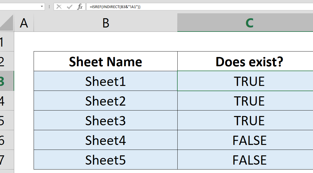 How to check whether a worksheet exists in your spreadsheet