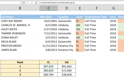 How to get top nth value with criteria