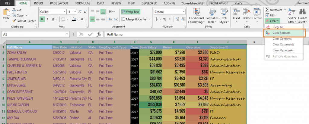 How to reduce file size of your Excel workbooks