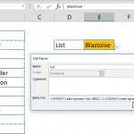 How to create dynamic dropdown lists