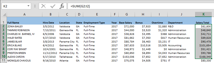 How to copy a formula in Excel between workbooks without links - Method 2