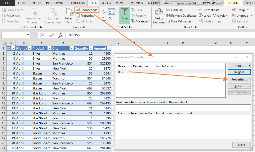 Connect Your Data Sources and Automate Updates with Excel Data Connection