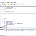 How to un-protect a protected worksheet and vice versa - the VBA method