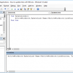 How to make Excel update links using VBA