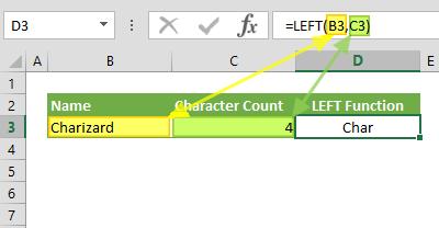 Function: LEFT