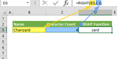 Function: RIGHT