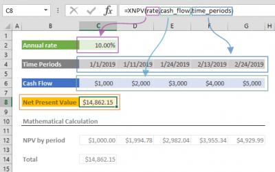 XNPV Function