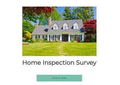 Home Inspection Survey