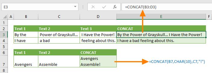 Function: CONCAT