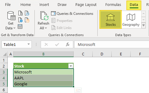 How to Get Excel Stock Quotes