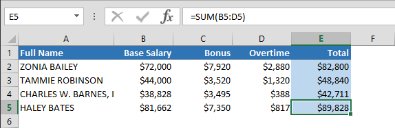 excel absolute reference
