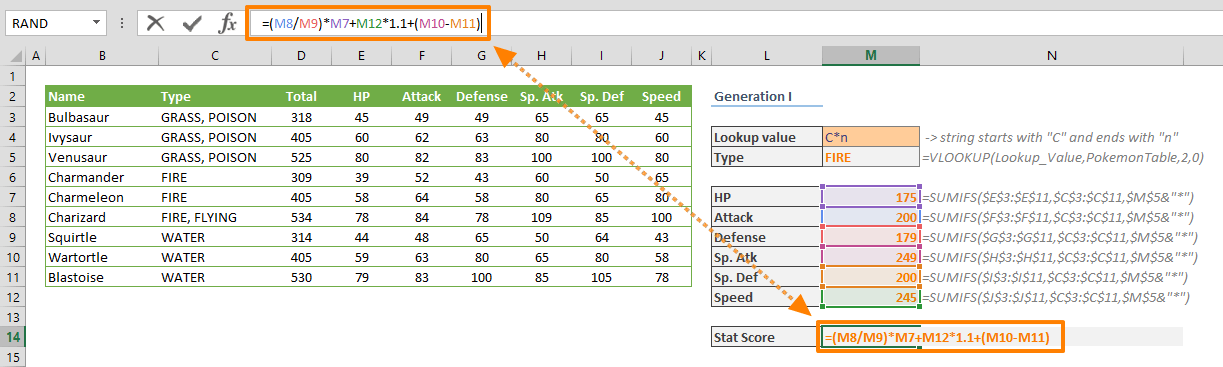 How to debug complex formulas with F9 in Excel 01