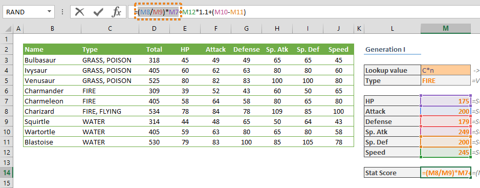 How to debug complex formulas with F9 in Excel 02
