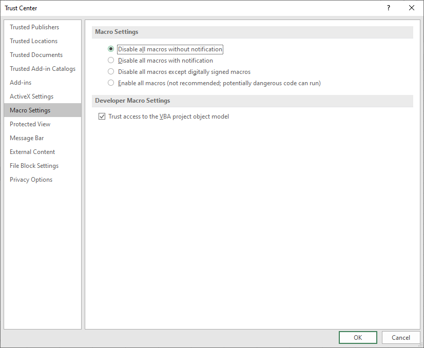 disable Workbook_Open