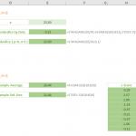 STANDARDIZE Excel