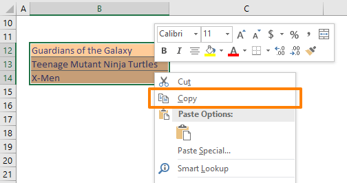 How to change case in Excel - Word