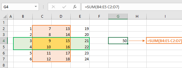Implicit vs Explicit Intersections in Excel 04