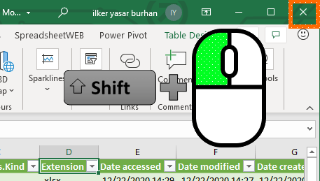 Excel Mouse Tips and Tricks 01