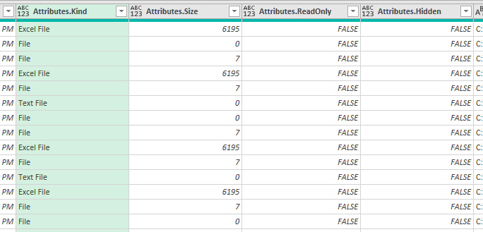 How to get a list of file names in Excel 07