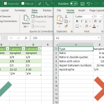 How to avoid formatting change on CSV files in Excel
