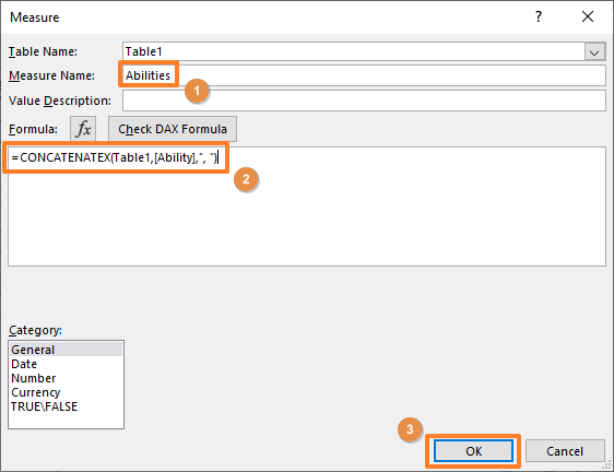 How to consolidate text with Pivot Table in Excel 04