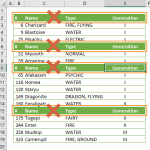 How to remove all rows containing specific value in Excel