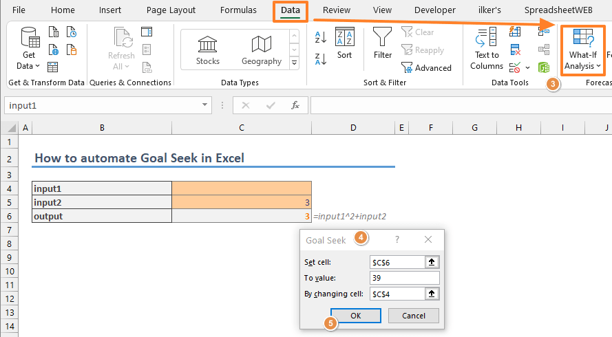 How to automate Goal Seek in Excel 04-min