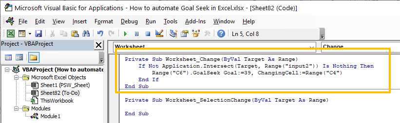 How to automate Goal Seek in Excel 08-min