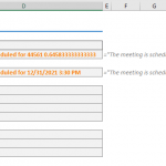 How to convert date to text in Excel
