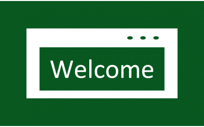 How to show a welcome message in Excel